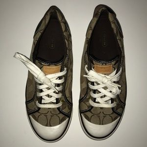 Coach Shoes - Brown COACH sneakers